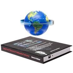 Электромагнитный глобус на книге