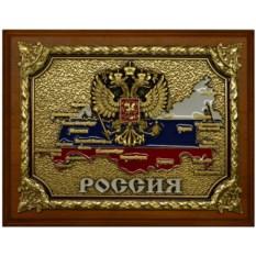 Картина из металла Россия