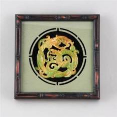 Картина фэн шуй интерьерная Нефритовый дракон