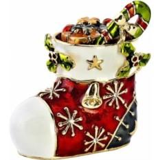 Шкатулка Сапожок с подарками