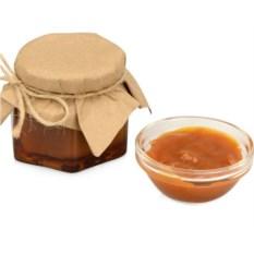 Крем-карамель с морской солью в подарочной обертке