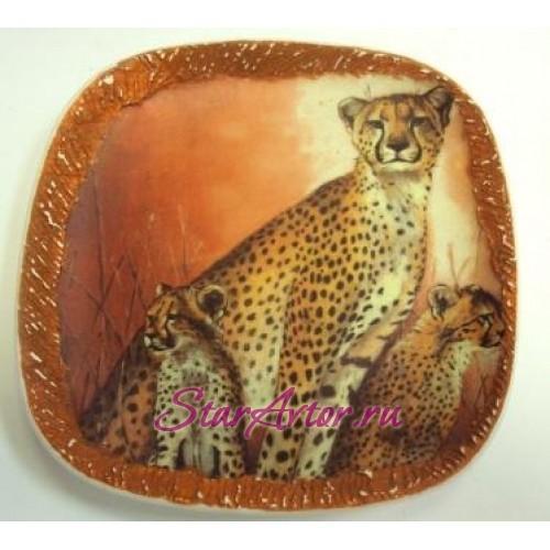 Тарелка - блюдо Львы