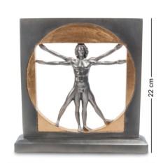 Статуэтка Леонардо да Винчи Витрувианский человек