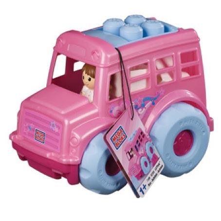 Розовый автобус (7 макси деталей)