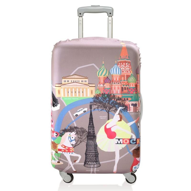 Чехол для чемодана Moscow, малый