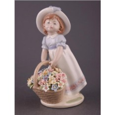Статуэтка Девушка (Porcelain Manufacturing)