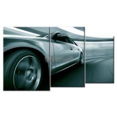 Модульная картина «Скорость» 50×30 см