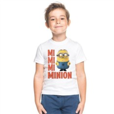 Детская футболка Mi mi mi Minion
