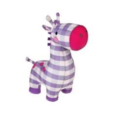 Мягконабивная игрушка Клетчатый жираф