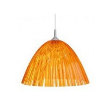 Подвесной светильник Reed для кухни, прозрачный оранжевый