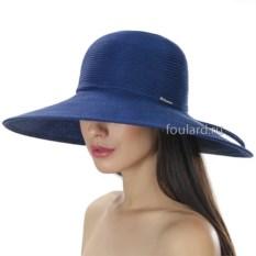 Широкополая синяя пляжная шляпа Del Mare