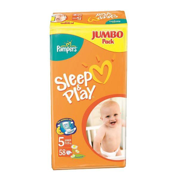 Подгузники Pampers Sleep & Play Camomile Junior (11-25 кг)
