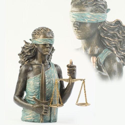 Скульптура Богиня правосудия