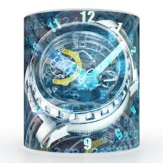 Кружка с 3D печатью Часы
