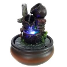 Настольный фонтан со светодиодной подсветкой Живительный источник