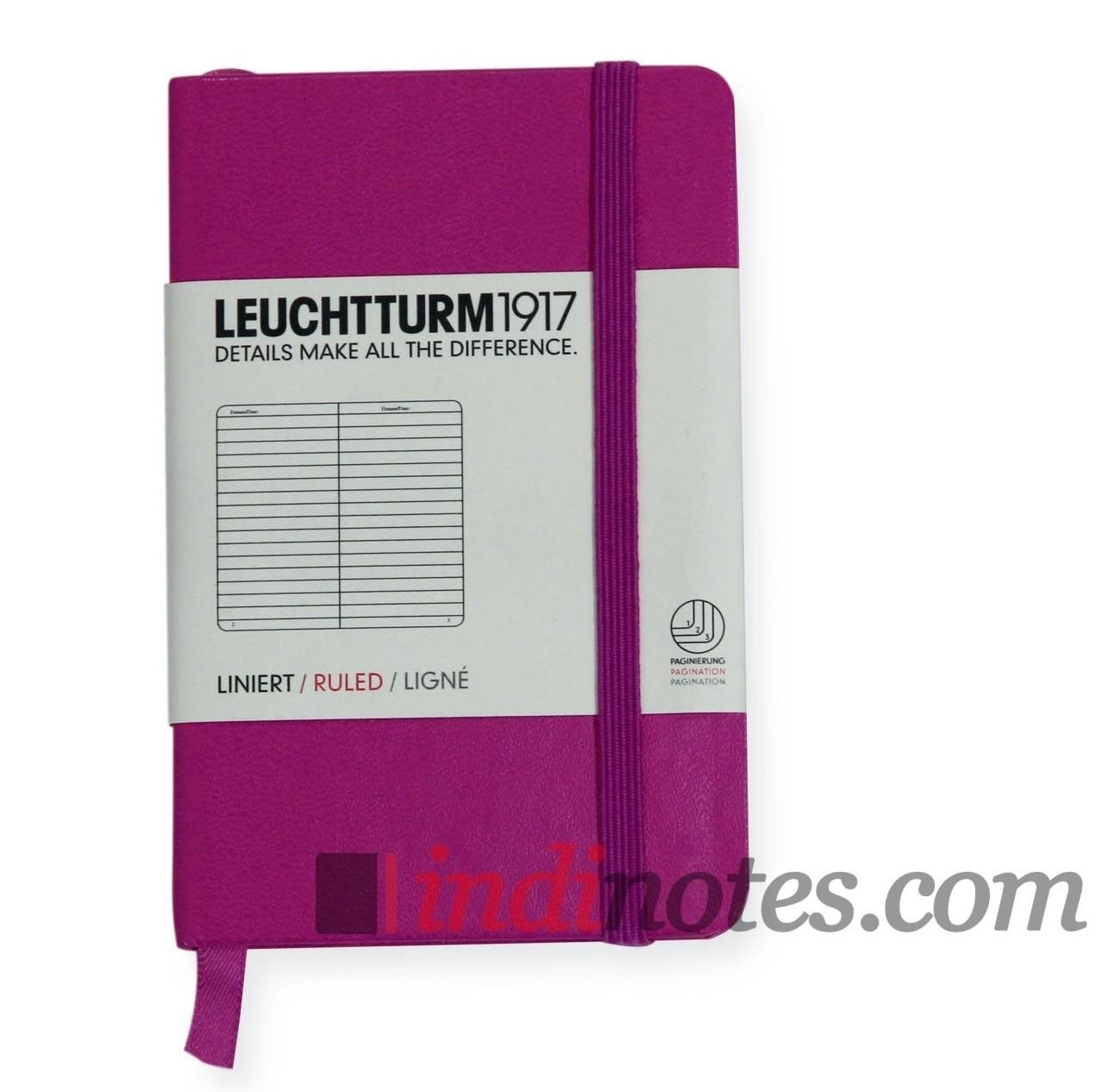 Записная книжка Mini Notebook Pink от Leuchtturm1917