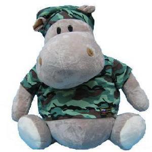 Игрушка «Бегемот военный»