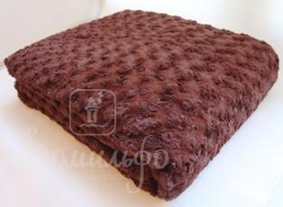 Плед Baby Lamb, шоколад, 200х220