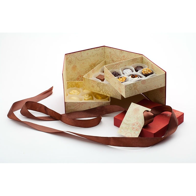 Набор конфет ручной работы «Вкус в кубе»