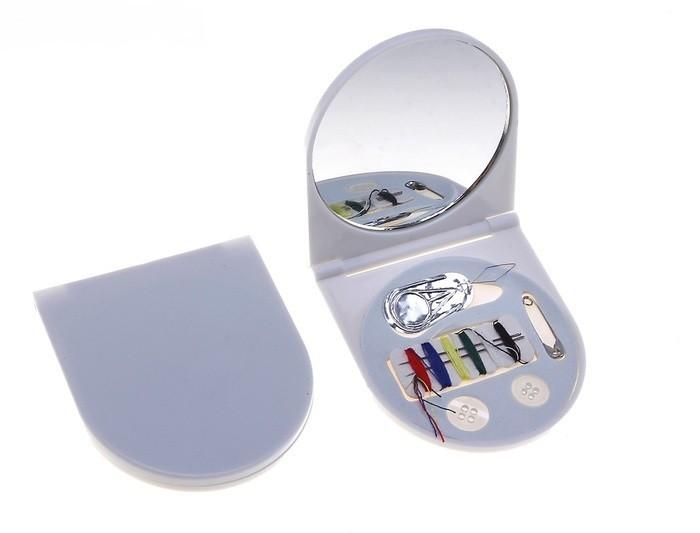 Складной набор для шитья с зеркалом