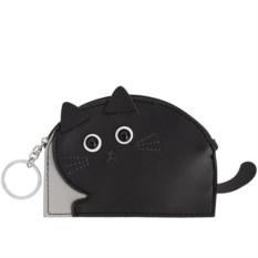 Кошелек-брелок Черный кот