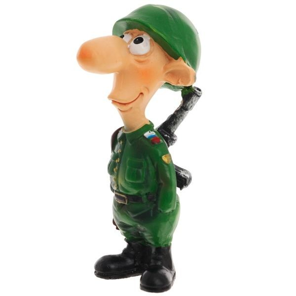 Декоративная фигурка Солдат