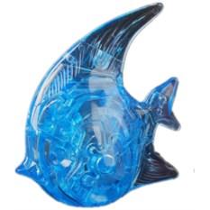 3D головоломка Синяя рыбка