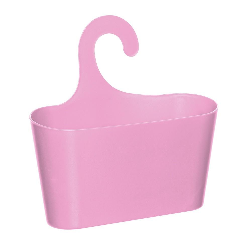 Нежно-розовая подвесная полка-корзина Stardis