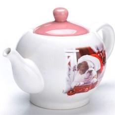 Заварочный чайник с крышкой Бульдоги