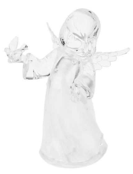 Светящаяся фигурка Ангелок с птичкой