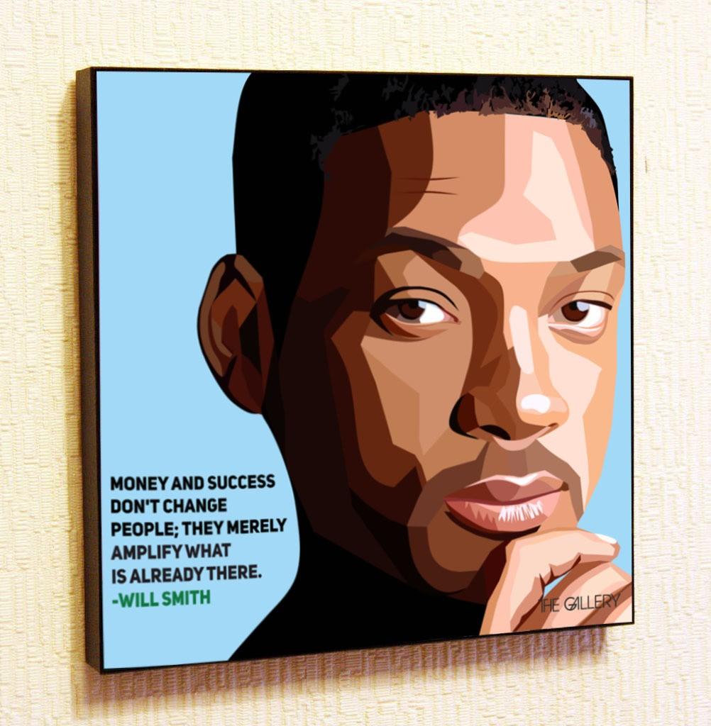 Картина в стиле поп-арт Уилл Смит