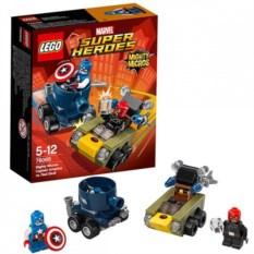 Конструктор Lego Капитан Америка против Красного Черепа