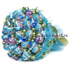Лазурный букет конфет Киндер-мания