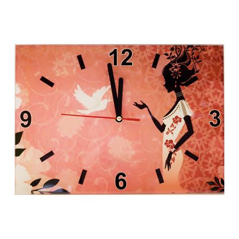 Настенные часы «Птица счастья»