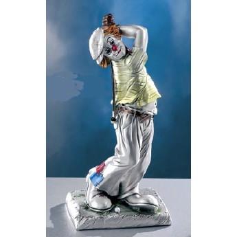 Статуэтка Клоун гольфист