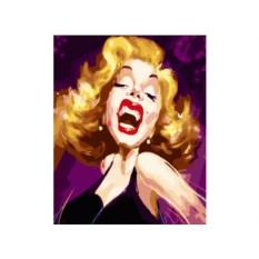 Картины по номерам «Шарж Мэрилин Монро»