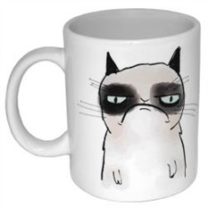 Кружка Грустный кот