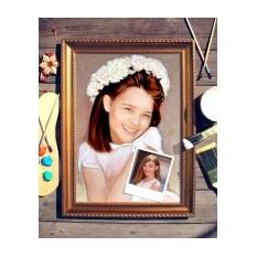 Портрет по фото Девочка в белом