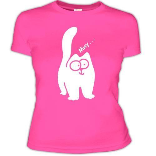 Женская футболка Котяра