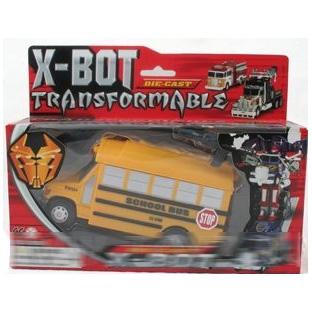 Робот- трансформер School bus-bot