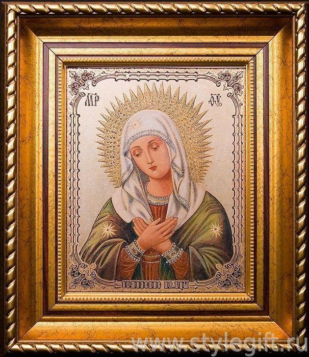 Икона Умиление Пресвятой Богородицы