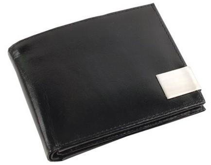 Портмоне с отделениями для кредитных карт, монет, документов