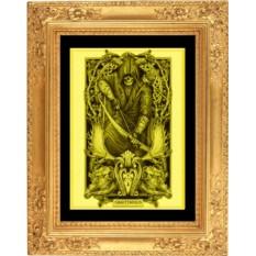 Картина из золота Стрелец