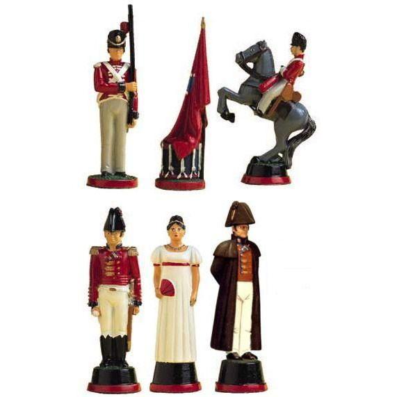 Битва у Ватерлоо: Британия (формы для шахмат)