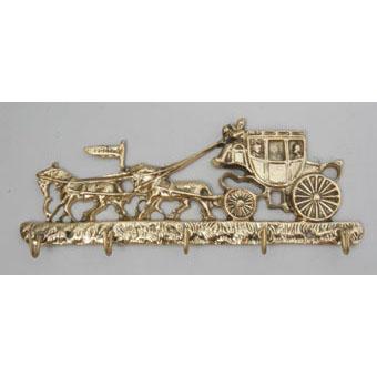 Ключница из бронзы Virtus «Карета»