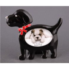 Фоторамка Собака для фото размером 5 х 8 см