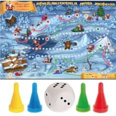 Настольная игра «Приключения Деда Мороза»