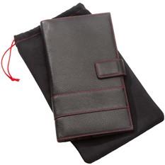 Органайзер дорожный Viaggi, черный с красной отделкой