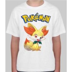 Детская футболка с покемоном Феннекин