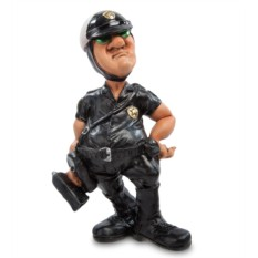 Статуэтка Полицейский с радаром